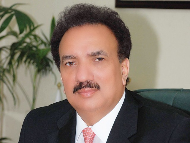 Rehman Malik agaist Long March