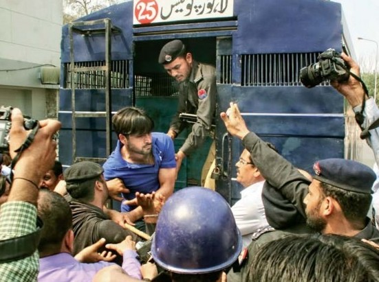 Protesting young doctors relinquished