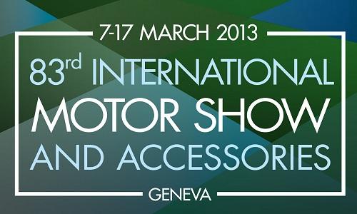 Latest Car models at Palexpo exhibition Center in Geneva, Switzerland