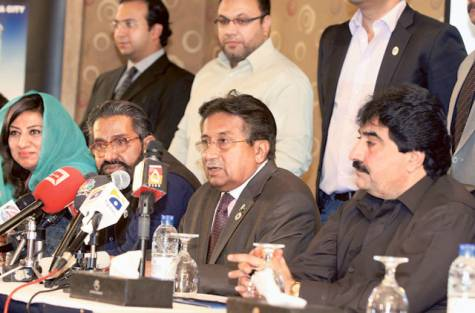 Musharraf seeks alliance with Imran, Qadri