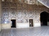 lahore fort inner view for tourists