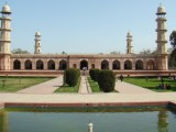 external view of jahangir's tomb in lahore