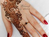 Left Hand Mehndi Designs collection