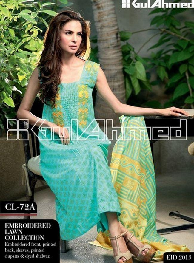 Gul Ahmed Best Fashion Trend in Pakistan dresses
