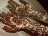 Doulble Hand Mehndi designs Pictures