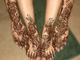 Beautiful hand and Feet Bridal mehndi Designs 2013