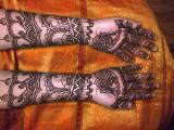 Full Complicated Mehndi Designs 2013