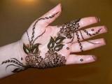 latest flowering Mehndi Designs 2013