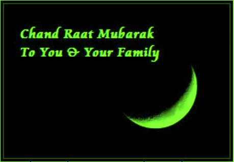 Eid Ul Fitr Chand  Raat Greetings