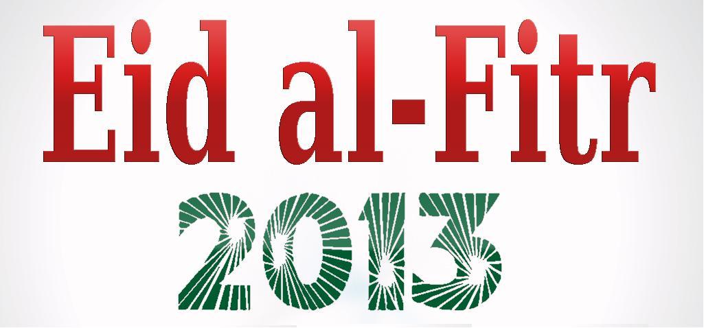 Eid ul Fitr Mubarak to All muslims of the world
