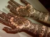 Both Hand Arabic Mehndi Art 2013