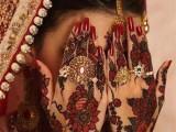 dulhan Multiple Colour Mehndi designs 2013