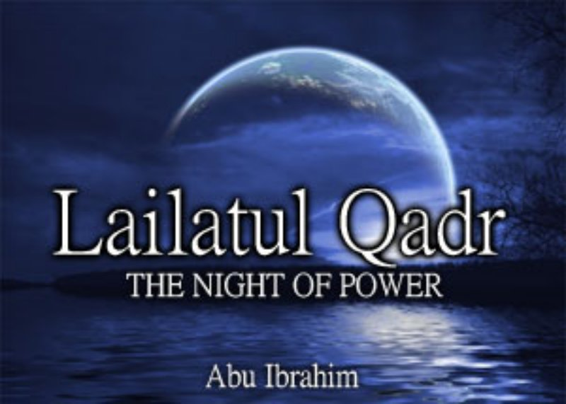 lailatul Qadar In Islam