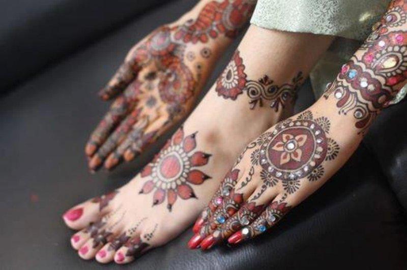 Bridal Tikya Designs 2013