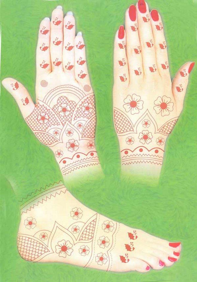Bridal Mehndi Art 2013
