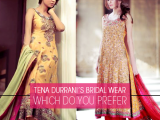 Beautiful Pakistani Wedding Dresses Collection 2013-2014 By Tena Durrani 02