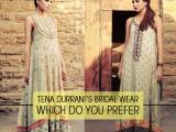 Beautiful Pakistani Wedding Dresses Collection 2013-2014 By Tena Durrani 03