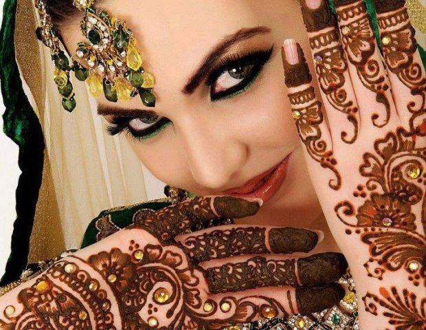 Mehndi Designs Pakistani Fashion for hands