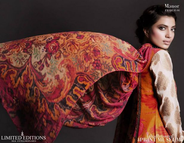 Fahad hussayn Print Museum Edition and Collection 2013