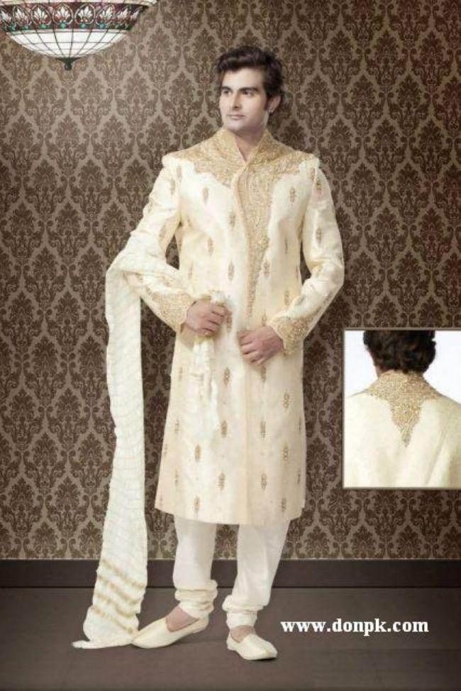 Sherwani pakistani Dressed for men 2013