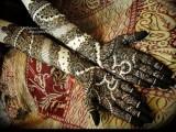 Complicated Hina Art for wedding