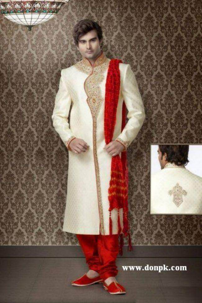 maharaja style sherwani dresses pakistani fashion