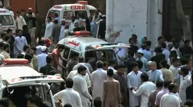 Peshawar Church Suicide Blast Several Peopled Killed