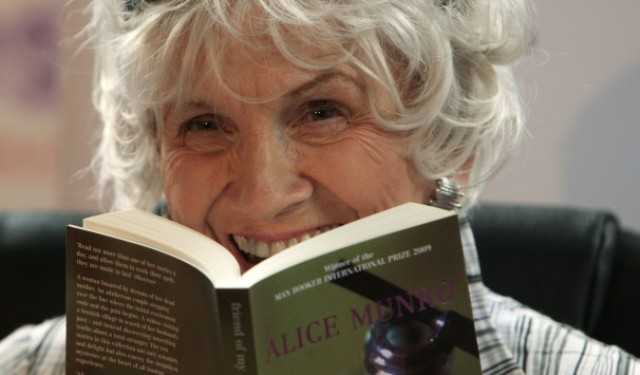 Alice Munro the first Nobel Prize winner of Canada