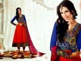 Latest Bollywood Actress Anarkali Stylish Frocks 2013-2014