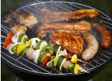 Grilling Food and Vegetables