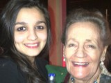 Alia Bhatt with her Grandmother