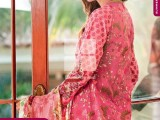 Summer lawn Dresses with TRENCIA SATIN SILK Collection5