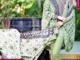 Summer lawn Dresses with TRENCIA SATIN SILK Collection6