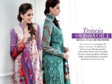 Summer lawn Dresses with TRENCIA SATIN SILK Collection10
