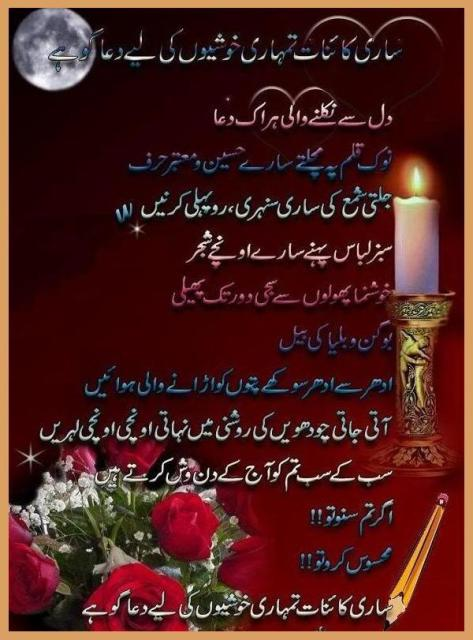 Happy Birthday Urdu Poem