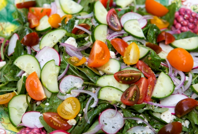 Summer Vegetables Green Salad Recipe