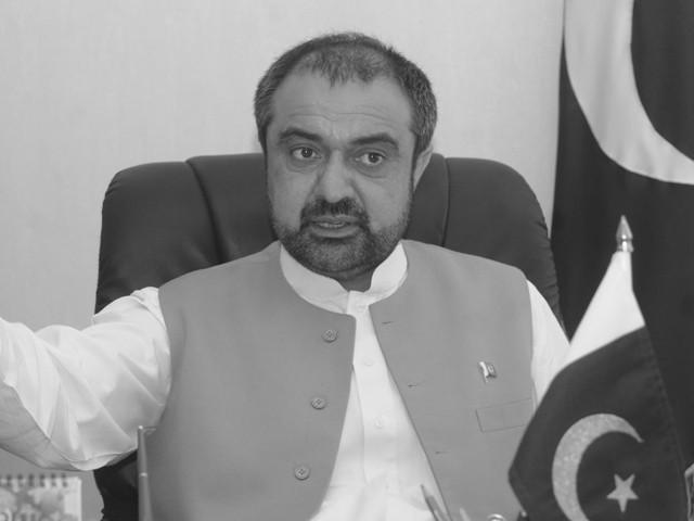 KPK Governor Engineer Shaukatullah Khan submitted Resign