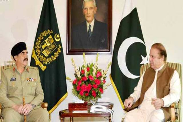 High Level meeting for national Security chaired by PM Nawaz