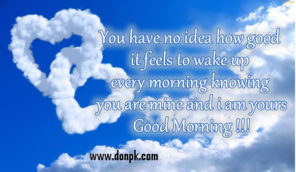 Good Morning SMS Quotes - Love is the way to life