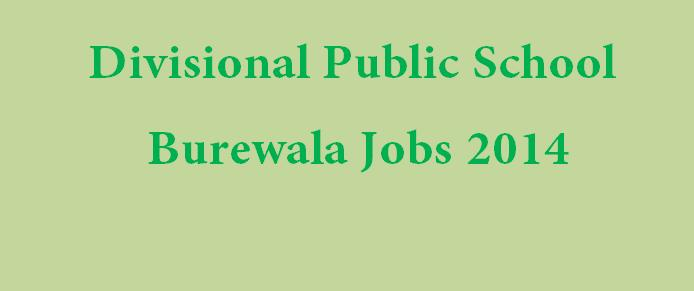 DPS School Burewala jobs  teachers 2014