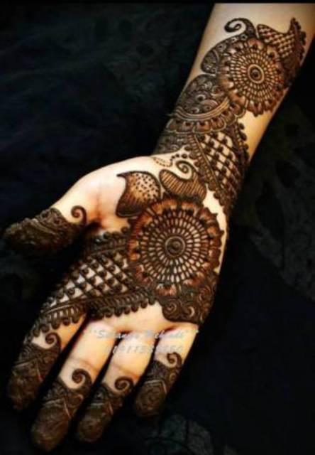 Arabic Full hands mehndi henna designs 2014