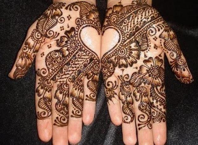 Latest Arabic Mehndi Designs 2014 With Pictures