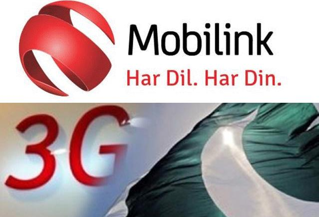 Mobilink 3G Internet Packages bundles detail and price