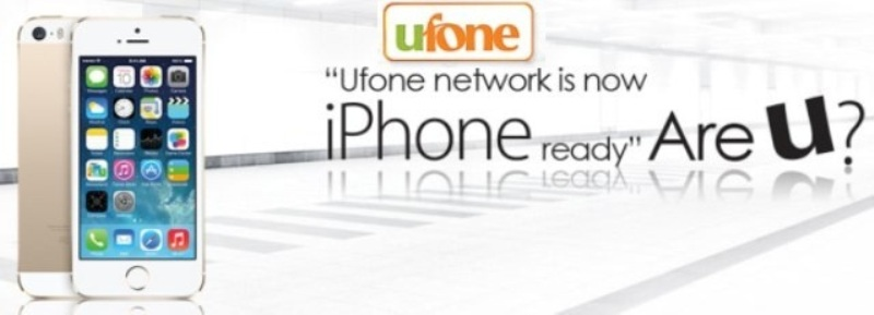 Ufone Pakistan's only iPhone 3G Carriers with Prepaid Buckets of 3 Mbps