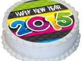 Happy New Year 2015 Cake Ideas