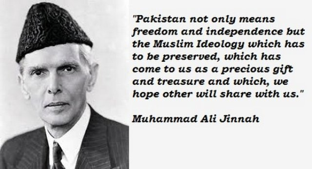 M.A. Jinnah quotes in english