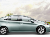Hd pictures of Toyota Prius 2015 model