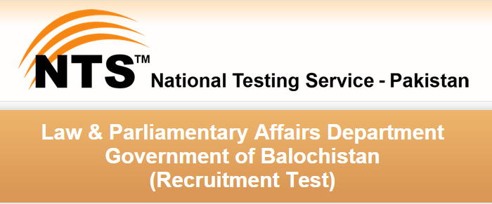 law &Parliamentary department baluchistan jobs 2015