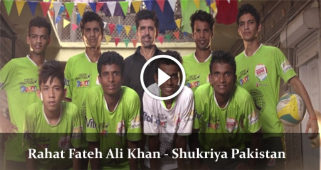 shukriya Pakistan by Rahat Fateh Ali Khan song video mp3