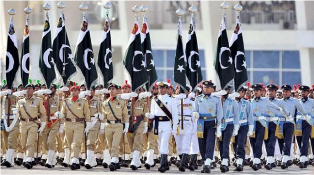 live Streaming Pakistan Day parade 2015